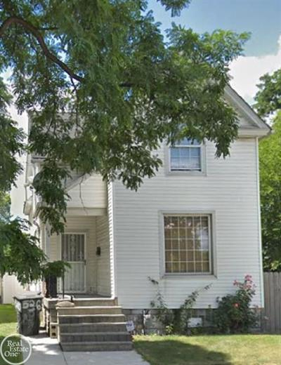 Detroit Single Family Home For Sale: 526 S Cottrell