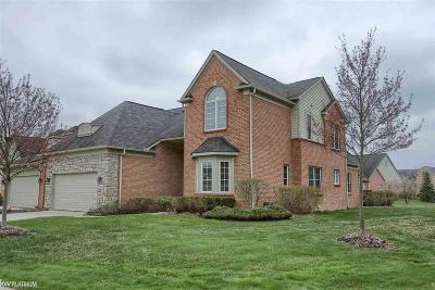 Farmington Hills Condo/Townhouse For Sale: 26522 Valhalla