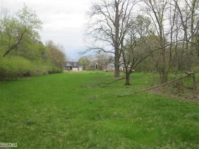 Rochester, Rochester Hills Residential Lots & Land For Sale: Willard