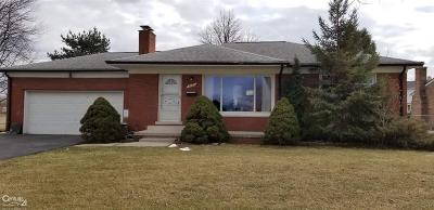 Sterling Heights Single Family Home For Sale: 3800 Nowak
