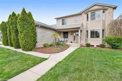 Macomb Twp Single Family Home For Sale: 16657 Kenneth