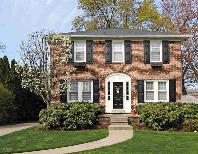 Grosse Pointe Single Family Home For Sale: 787 Lincoln