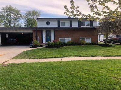 Sterling Heights Single Family Home For Sale: 11727 Delvin