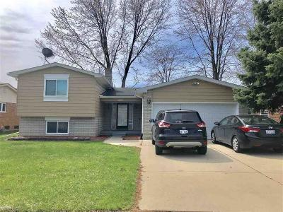 Sterling Heights Single Family Home For Sale: 5206 Temple