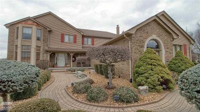 Shelby Twp Single Family Home For Sale: 14851 Chatham Dr.