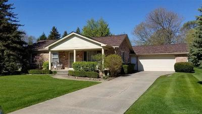 Shelby Twp Single Family Home For Sale: 53231 Sula Drive