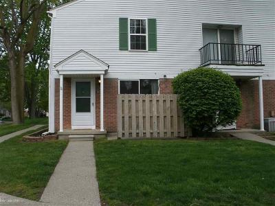 Harrison Twp MI Condo/Townhouse For Sale: $110,000