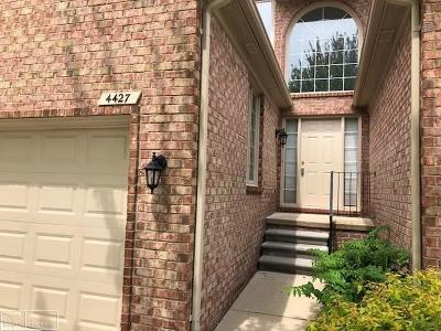 Shelby Twp Condo/Townhouse For Sale: 4427 Pennsylvania