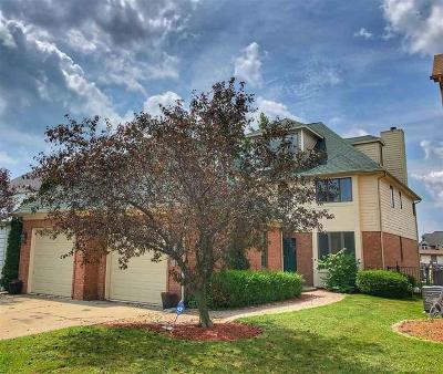 Harrison Twp Single Family Home For Sale: 37771 Lakeshore