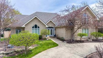 Shelby Twp Single Family Home For Sale: 48230 Lake Land Dr
