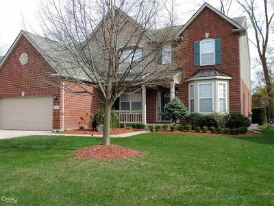 Sterling Heights MI Single Family Home For Sale: $409,900