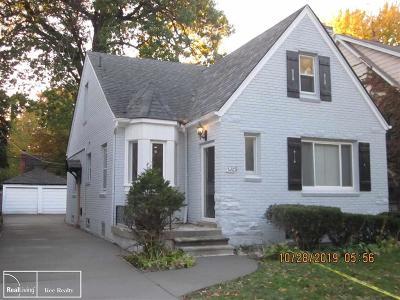 Detroit Single Family Home For Sale: 5269 Grayton