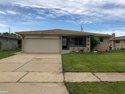 Sterling Heights Single Family Home For Sale: 3418 Gordon Dr
