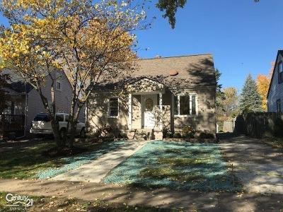 Royal Oak Single Family Home For Sale: 1427 Donald Ave