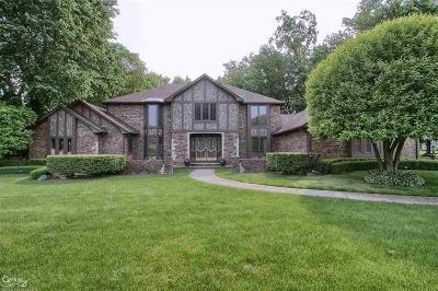 Clinton Twp Single Family Home For Sale: 37528 Alpinia