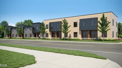 Ferndale Condo/Townhouse For Sale: 1201 Woodward Heights #Unit #3