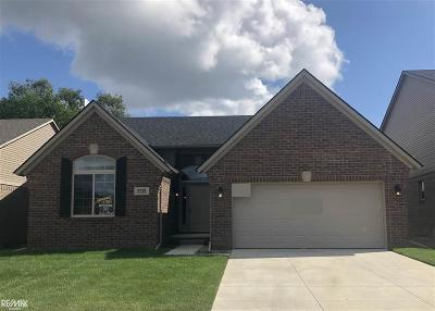 Shelby Twp Single Family Home For Sale: 5735 Gregory Dr