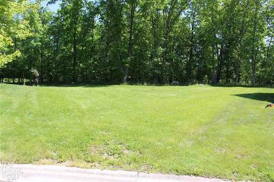 Grand Blanc Residential Lots & Land For Sale: Edgewood Ct.
