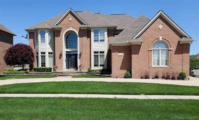 Shelby Twp MI Single Family Home For Sale: $849,995
