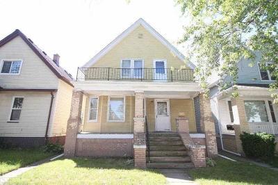 Detroit Single Family Home For Sale: 2282 Poland