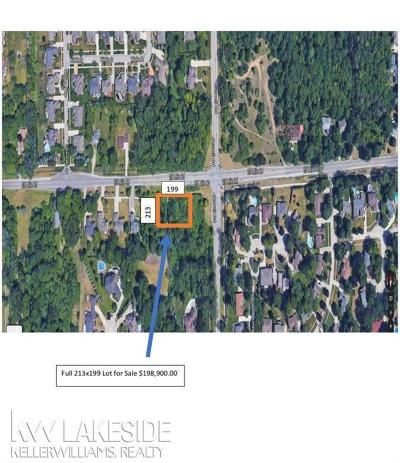 Shelby Twp Residential Lots & Land For Sale: 25 Mile Road