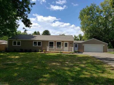 Washington Twp Single Family Home For Sale: 63041 Fritz