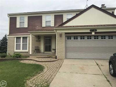 Macomb Twp Single Family Home For Sale: 17541 Yaneev