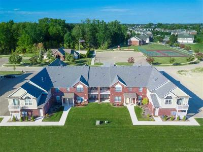 Chesterfield Twp Condo/Townhouse For Sale: 51867 East Pointe Lane