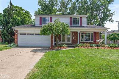 Macomb County Single Family Home For Sale: 12248 El Camino