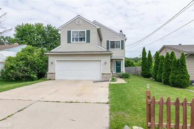 St Clair Shores, Roseville, Harrison Twp, Fraser Single Family Home For Sale: 24905 Harrison