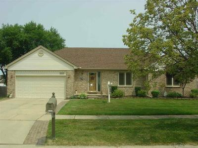 St Clair Shores, Roseville, Harrison Twp, Fraser Single Family Home For Sale: 33494 Paoletti