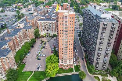 Detroit Condo/Townhouse For Sale: 8162 E Jefferson Ave #6B