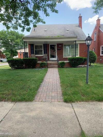 Allen Park Single Family Home For Sale: 9807 Carter Ave