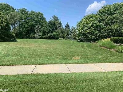 Washington Twp Residential Lots & Land For Sale: Deerfield