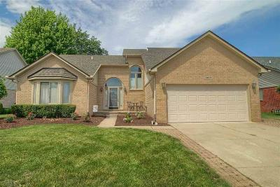 Macomb Twp Single Family Home For Sale: 50119 Buccaneer Dr