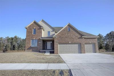Macomb Twp Single Family Home For Sale: 50866 Summit View Drive #Lot #6