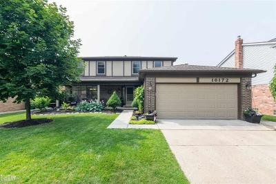 Macomb Twp Single Family Home For Sale: 16172 Cambell