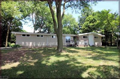 Macomb Twp Single Family Home For Sale: 17779 24 Mile