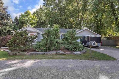 Harrison Twp MI Single Family Home For Sale: $199,900
