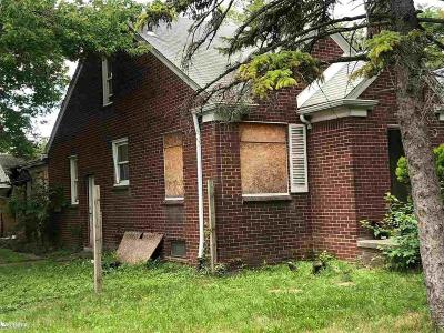 Detroit Single Family Home For Sale: 20505 Fairport