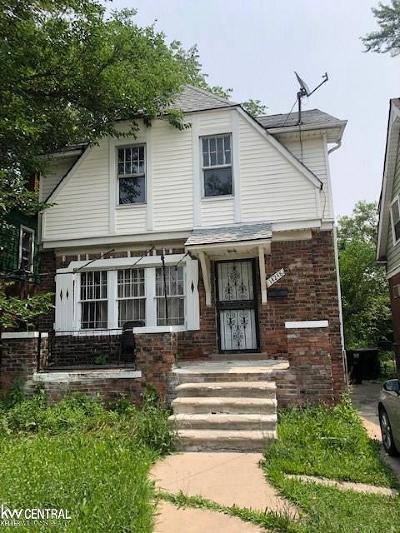 Detroit Single Family Home For Sale: 14248 Roselawn St