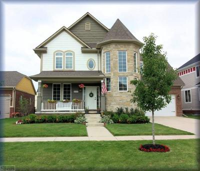 Macomb Twp Single Family Home For Sale: 53157 Springdale