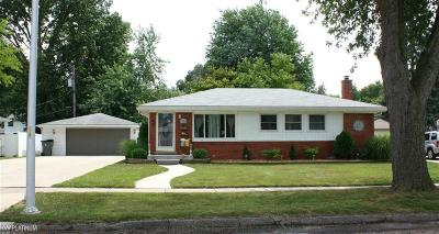 Macomb County Single Family Home For Sale: 23518 Demley