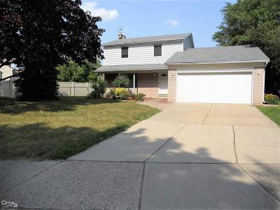 Sterling Heights Single Family Home For Sale: 43456 Hartwick