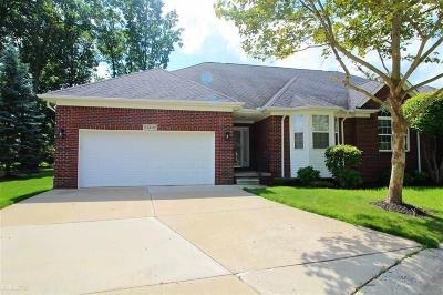 Sterling Heights Condo/Townhouse For Sale: 44132 Astro