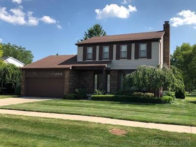 Fraser Single Family Home For Sale: 15502 Masonic