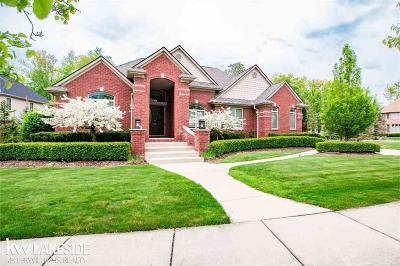 Washington Twp Single Family Home For Sale: 60351 Cottage Mill