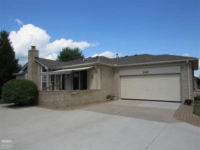 Macomb Twp Condo/Townhouse For Sale: 18099 Pleasant Valley Dr