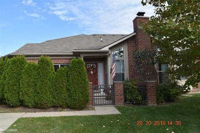 Macomb Twp Condo/Townhouse For Sale: 49216 Brodie Ct