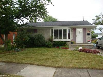 Macomb County Single Family Home For Sale: 24845 Marine